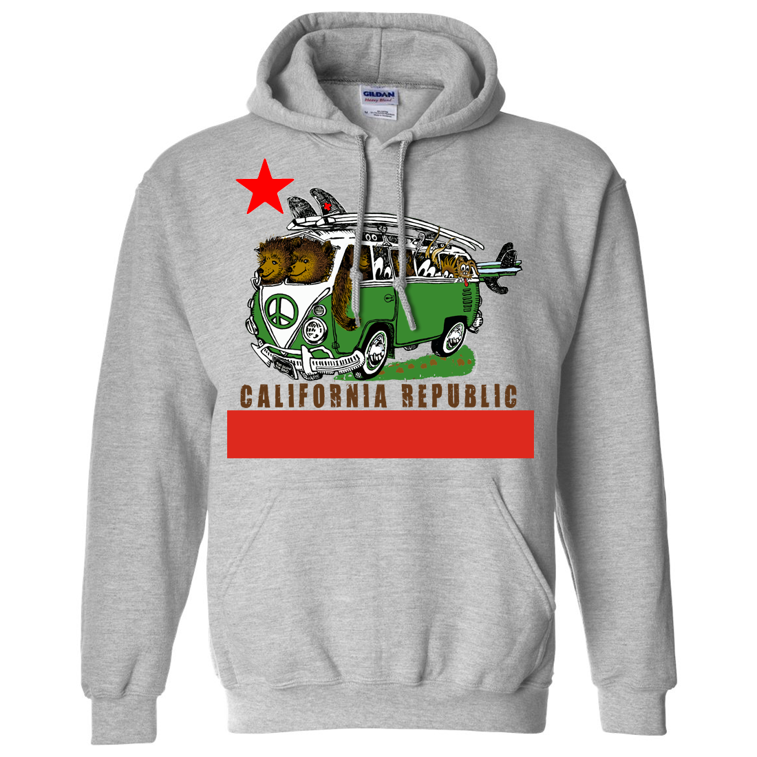California Republic born raised T-Shirt Comfortable, casual and loose fitting, our heavyweight dark color t-shirt will quickly become one of your favorites. Made from % cotton, it wears well on anyone.